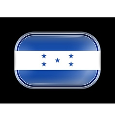 Flag of Honduras Rectangular Shape vector