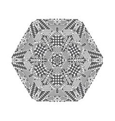 geometric tribal ethnic pattern vector image
