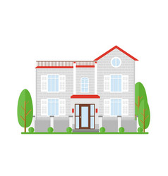 real estate house for sale vector image