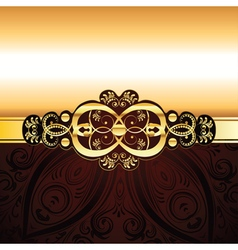 Red Decorative Background2 vector image
