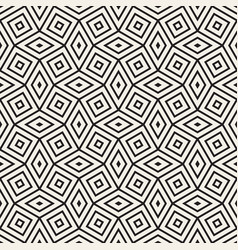 seamless geometric pattern contemporary stylish vector image