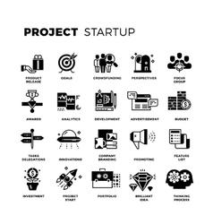 Start up venture capital entrepreneur vector image