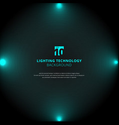 Technology blue lighting glow effect with vector