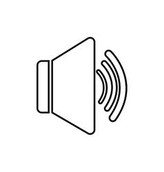 Volume music sound dj icon graphic vector