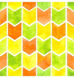Watercolor arrows pattern vector