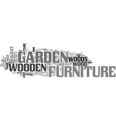 What you need to know about wooden garden vector