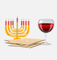 passover background vector image