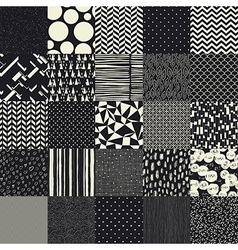 25 seamless different patterns vector