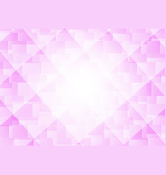 pink and white color geometric overlap abstract vector image