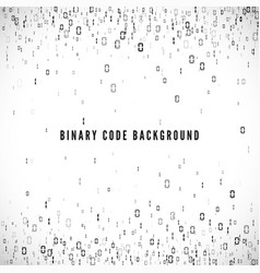 binary code background digital data stream matrix vector image
