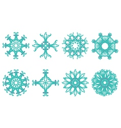 Flower motif vector