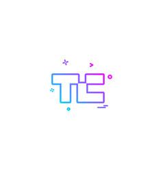 tech crunch icon design vector image