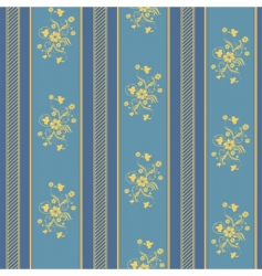 texture stripped blue and gold vector image