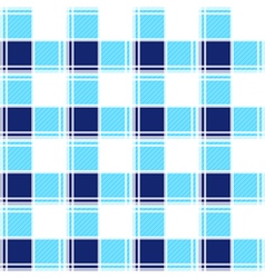 Navy Blue White Chessboard Background vector image