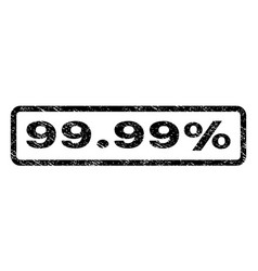 9999 percent watermark stamp vector