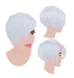 Bob haircut vector