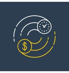 Business and finances icon stock exchange earn vector
