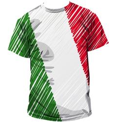 Italian tee vector image