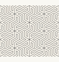 Seamless geometric pattern simple abstract thin vector