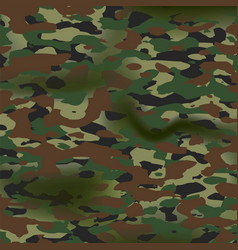 Summer camouflage background pattern army vector