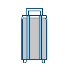 Travel suitcase symbol vector