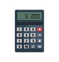 calculator isolated design vector image