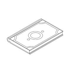 Koran icon isometric 3d vector image