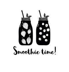 Smoothies vector image