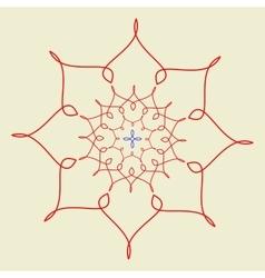 Arabic pattern geometry pattern in vector