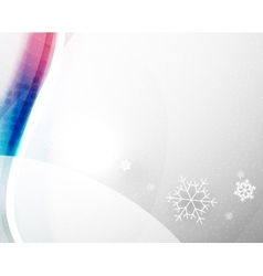 Christmas blur wave vector image