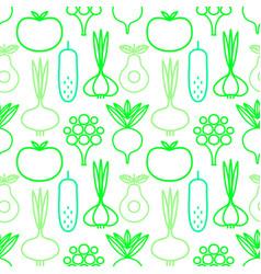 decorative seamless background vegan organic vector image
