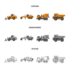 design of build and construction sign vector image