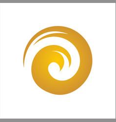 element o logo abstract symbol vector image