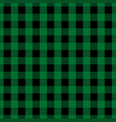Green tablecloth seamless pattern vector