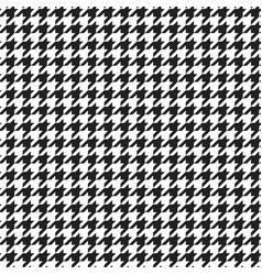 houndstooth plaid pattern vector image