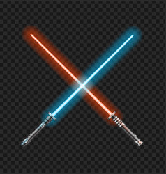 realistic 3d detailed color jedi knights cross vector image
