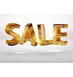 Bold sale sign vector