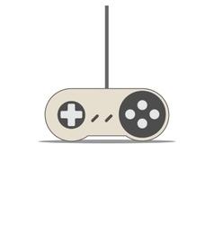 Vintage Game Joystick vector image