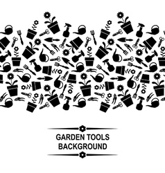 garden card vector image