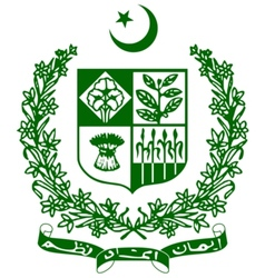coat of arms of Pakistan vector image vector image