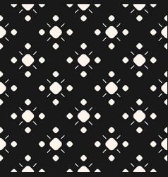 monochrome ornamental seamless pattern vector image vector image