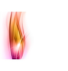 background red wave vhite vertical vector image