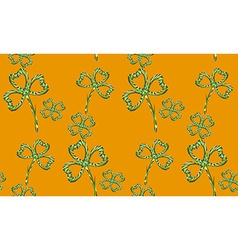 Clover Pattern2 vector image