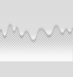 cream texture liquid creamy texture on vector image