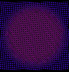 dark halftone texture vector image