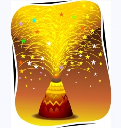 Fire crackers vector