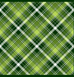 Green irish diagonal abstract plaid seamless vector