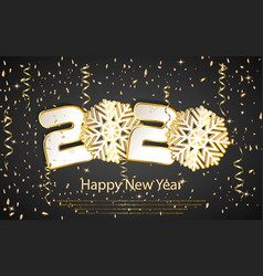 Happy new year 2020 luxury greeting card vector