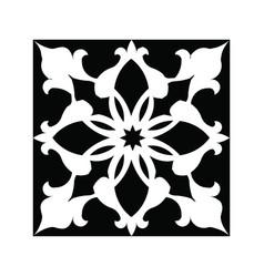 Islamic laser cutting pattern vector