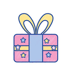 present gift to celebrate special day vector image